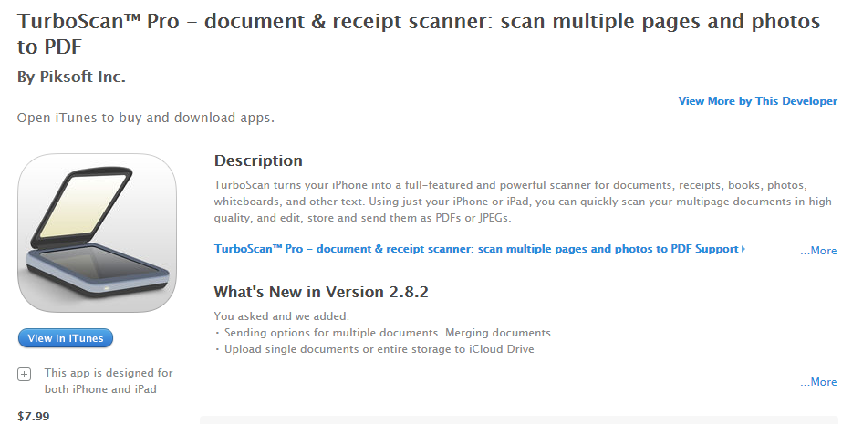 SCANNER BOOKKEEPING